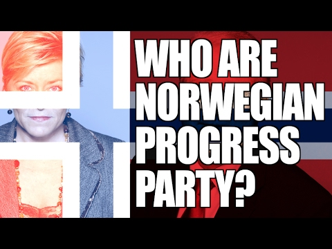 Who are the Norwegian Progress Party? (FrP)