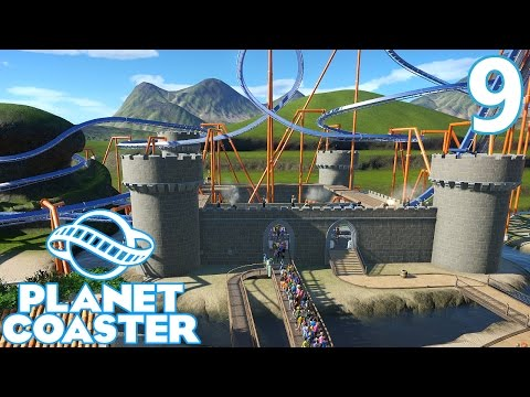 Planet Coaster - Part 9 - More Station Work  