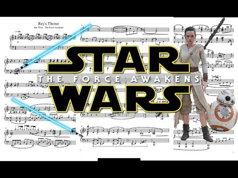 Rey's Theme - Star Wars VII + Sheet music / Partitions