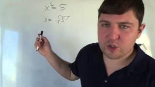 Алгебра 8 класс. 30 октября. простейшие степенные уравнения