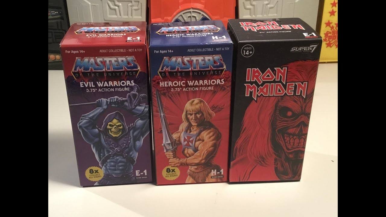 SUPER 7 REACTION MASTERS OF THE UNIVERSE  HEROIC WARRIORS BLIND BOX*