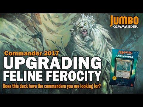 Upgrading Feline Ferocity   Legends from Commander 2017