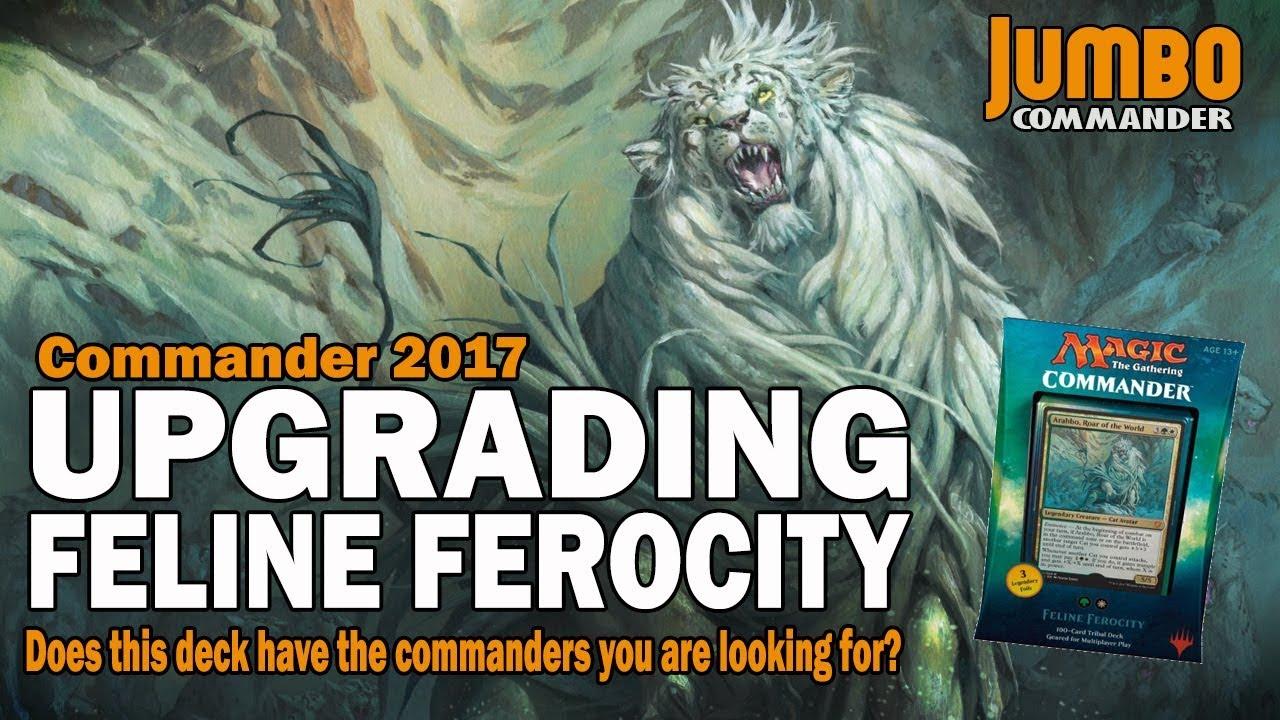 Upgrading Feline Ferocity | Legends from Commander 2017