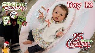 Reborn Countdown to Christmas! Changing Baby Shiloh - Day 12 | Kelli Maple