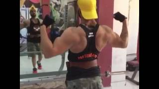 See my Full Back workout video PRO Fitness Gym Bathinda
