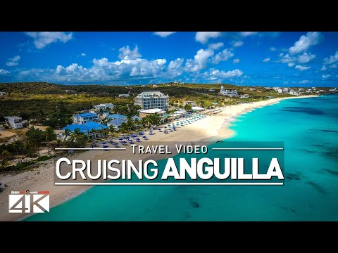 【4K】Footage | Sailing from SAINT-MARTIN to ANGUILLA ..:: Caribbean 2017