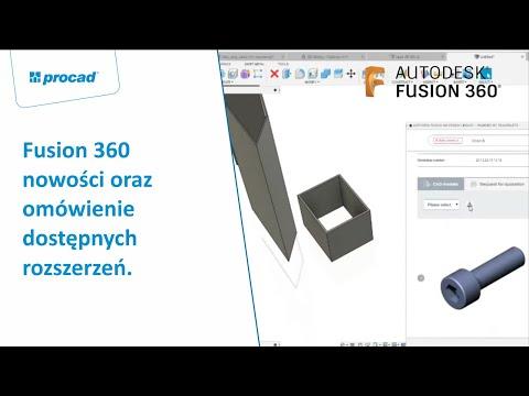 Fusion 360 nowości oraz omówienie dostępnych rozszerzeń. | NetCafe