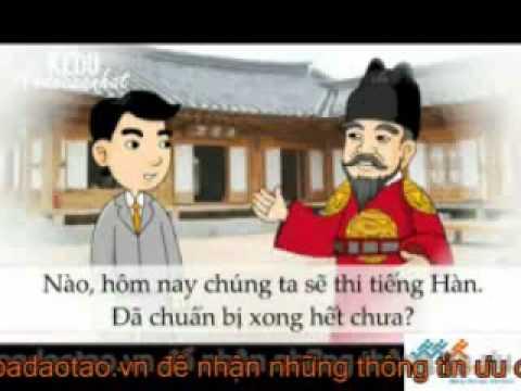 Học Tiếng Hàn Sơ Cấp Bằng Phim Hoạt Hình   Bài 5  Cách Phát Âm