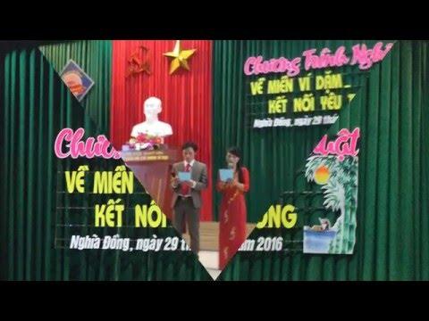 Hát Ví, Dặm Trường THCS Nghĩa Đồng