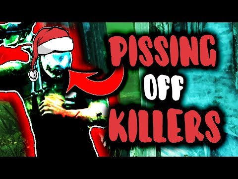 PISSING OFF KILLERS - Dead By Daylight