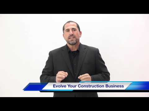 Sales Coaching for Construction Companies. Evolve Your Business!