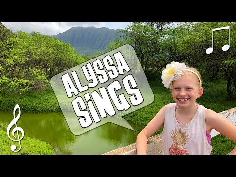 Alyssa Sings a Solo - Family Fun Pack Music Video