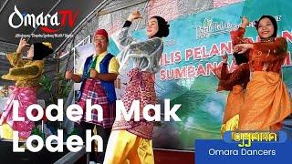 Lodeh Mak Lodeh Anita Sarawak dalam tarian Omara Dancers