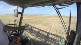 John Deere S680 Wheat Harvest 2014- Danielski Farm's