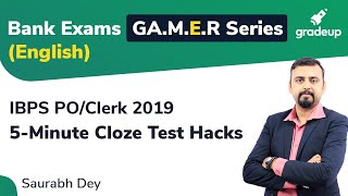 YT G.A.M.E.R Series: Tricks to Attempts Para Completion in IBPS PO Main (English)