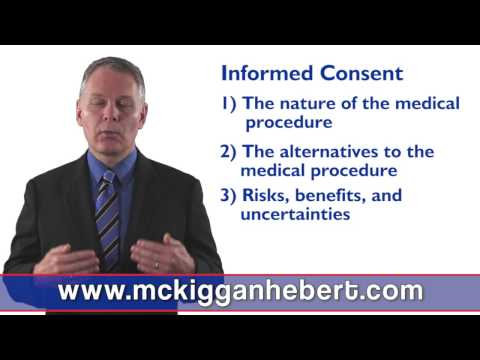 What is Informed Consent to Medical Treatment in Halifax, Nova Scotia