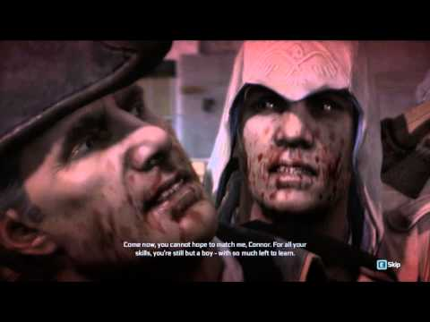 Assassin's Creed 3 - Connor kills Haytham [HD]