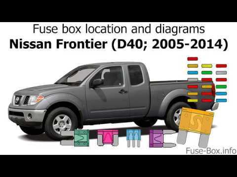 Fuse box location and diagrams: Nissan Frontier (D40; 2005-2014) - YouTubeYouTube