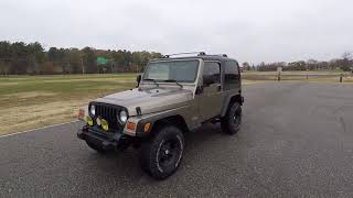 Davis AutoSports 2003 Jeep Wrangler Pre-Listing / New Inventory