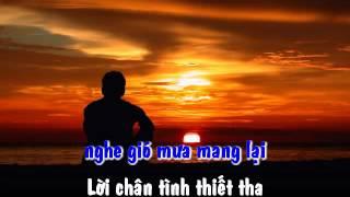Karaoke Sam Hoi (Tho: Mui Quy Bong - Nhac: Nguyen Bich) - Tuan Ngoc