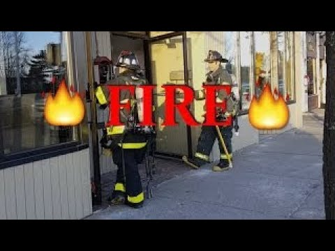Fire!!! *At Cook In Newtonville, Ma*