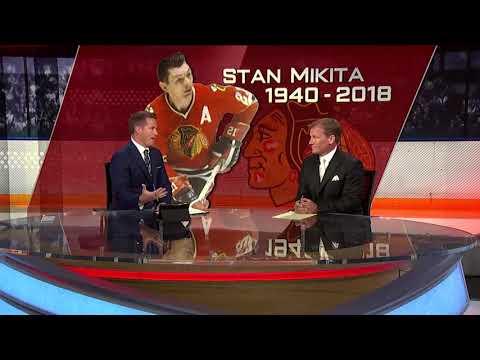 NHL Tonight:  Bill Lindsay:  on Stan Mikita passing away  Aug 7,  2018 Mp3