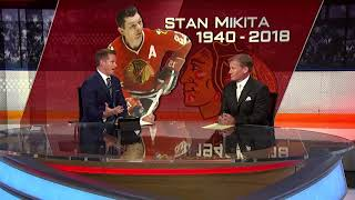 NHL Tonight:  Bill Lindsay:  on Stan Mikita passing away  Aug 7,  2018