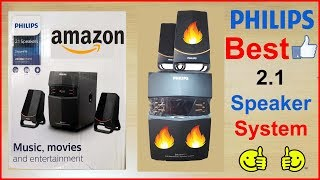 PHILIPS CHEAP & BEST 2.1 SPEAKER SYSTEM FOR MOBILE AND LAPTOP