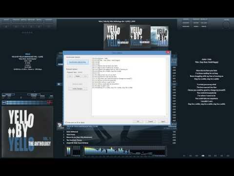 Редактирование и синхронизация текстов песен в foobar2000 / Edit & synchronize lyrics to foobar2000