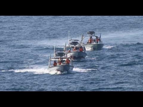 Navy Destroyer Harassed by Iranian Speedboats