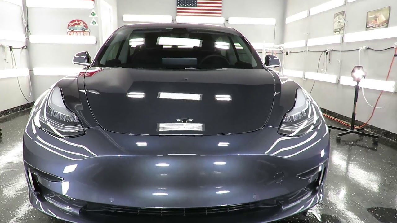 2019 Tesla model 3/front ppf/ceramic-coated by Advanced ...