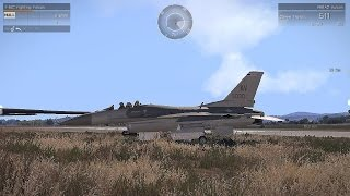 ARMA 3 | F-16 attacking Russian forces