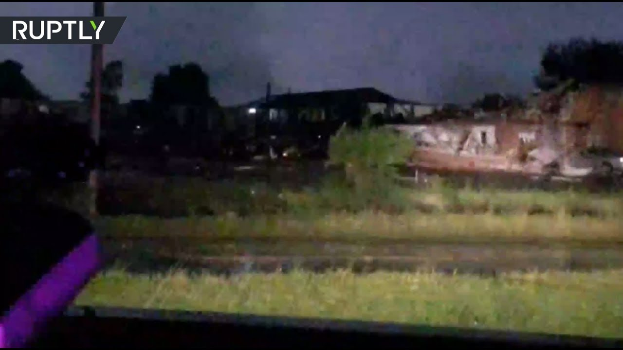 Tornado flattened Oklahoma hotel, 2 dead & many missing