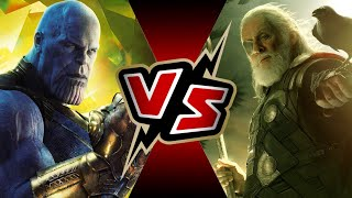 Thanos VS Odin | BATTLE ROYALE