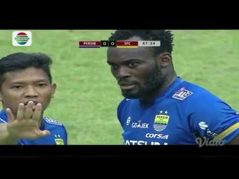 Peluang dan Goal Persib vs Sriwijaya FC | Piala Presiden 2018