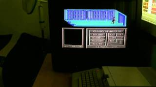 Cyborg on a Commodore 64 with commentary