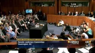 Elena Kagan on TV Cameras in the Supreme Court
