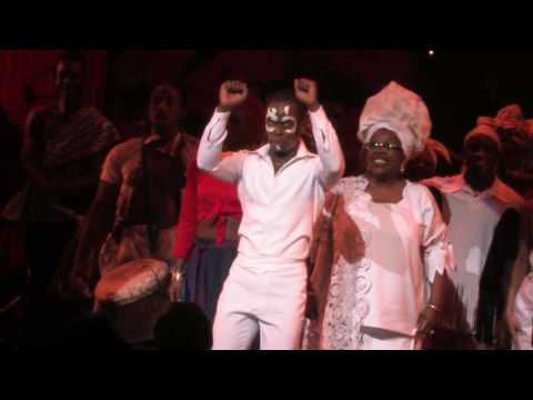Applause, Please: FELA! on Broadway Curtain Call