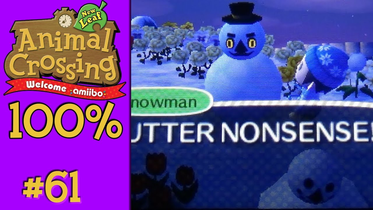 Animal Crossing: New Leaf 100% - #61: Last day of winter!