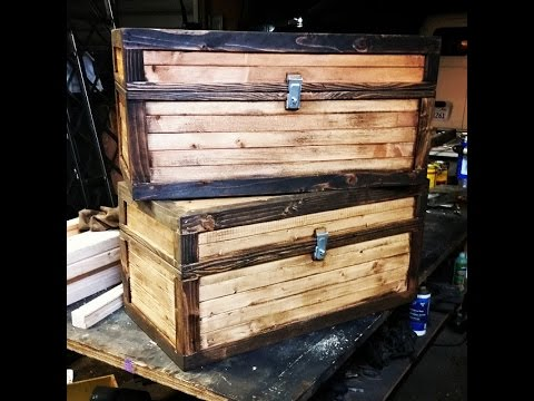 Real Minecraft Chest Homemade Chests Inspired by Minecraft