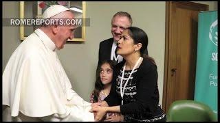 """Salma Hayek: """"Me parece que Francisco es el mejor papa que ha existido"""""""