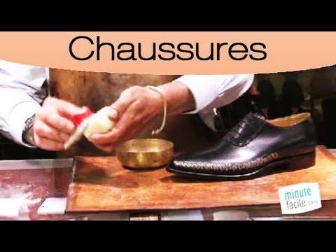 Comment nettoyer des chaussures en cuir youtube - Comment cirer des chaussures ...