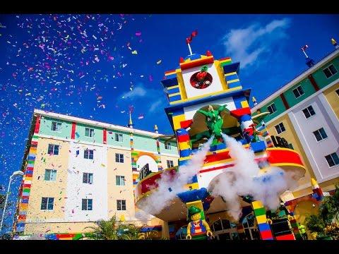 LEGOLAND Hotel Florida - YouTube