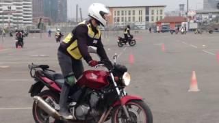 Motosiklet eğitimi 1.ders görüntüleri (1.bölüm)