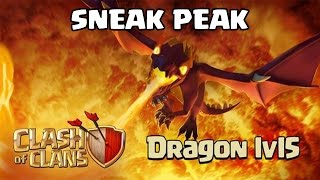 Clash of Clans UPDATE / SNEAK PEAK - Level 5 Dragon Barracks Screen 2 Air Sweepers New Hero UI