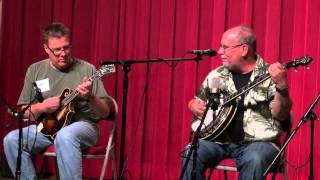 Emory Lester with Ned Luberecki - Fireball Mail - Midwest Banjo Camp 2014