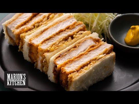 Japanese Pork Katsu Sando - Marion's Kitchen