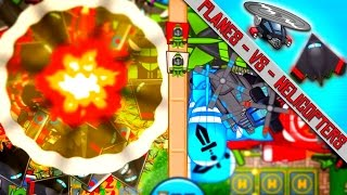 BTD Battles - Helis Vs. Aces