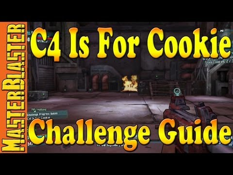 Torgue Arena C4 Is For Cookie Challenge Guide - Borderlands 2