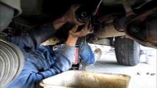 How To Remove A Transmission: The REdneck Way (Rasslin